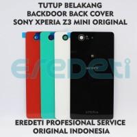 TUTUP BELAKANG BACKDOOR BACK COVER SONY Z3 MINI ORI KD-002561 - black