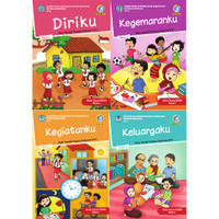 Paket Buku Tema Siswa Teks Utama SD Kelas I Semester 1