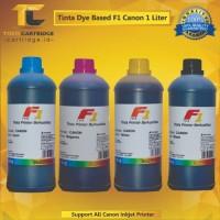 Tinta F1 Canon 1 liter ink tank printer G1000 G2000 G3000 G4000 ip2770