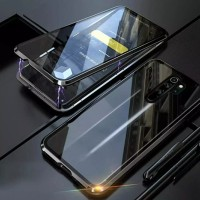 Double Glass case Magnet Xiaomi Redmi Note 8 pro Magnetic Front+Back
