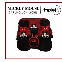 LAKU! Sarung Jok Mobil Mickey Mouse 18 in 1