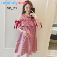 Mommymine Baju Hamil / Dress Hamil Impor (MD_103)