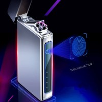 KOREK API ELEKTRIK KEREN FINGERPRINT PLASMA ARC RECHARGE - BLACK
