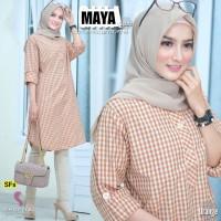 Baju Atasan Wanita Blouse Muslim Maya Tunik Shofiya