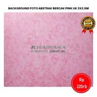Kain Background Backdrop Studio latar Foto abstrak bercak pink 3x2.5m