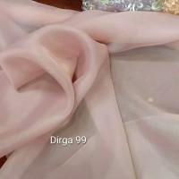kain polos organza/bahan gaun dan kerudung