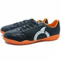 TERLARIS Sepatu Futsal Ortuseight Mirage IN Black White Orange TEMURAH