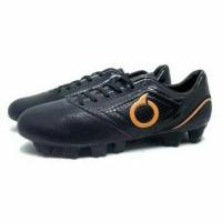 TERLARIS Sepatu Bola Ortuseight Genesis FG Black Ortrange TEMURAH
