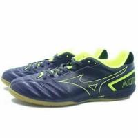 TERLARIS Sepatu Futsal Mizuno Monarcida Sala Pro IN Graphite Yellow