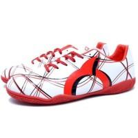 TERLARIS Sepatu Futsal Ortuseight Ventura IN White Red Black TEMURAH