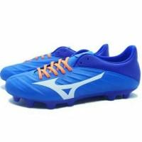 TERLARIS Sepatu Bola Mizuno Rebula 2 V3 Brilliant Blue White TEMURAH
