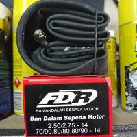 Ban dalam FDR 2.50/2.75 ring 14 untuk motor matic 80/80 70/90 80/90