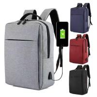 Mi Oxford Classic Backpack Usb port Tas Ransel 17L Capacity Xiaomi