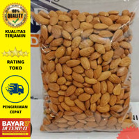 Kacang Almond Panggang Blue Diamond 500gr Roasted