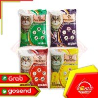 Pasir Kucing Gumpal Wangi Pawsitive 25 Liter / Cat Litter 25 Liter