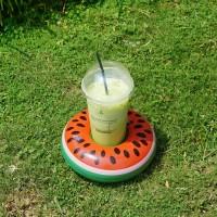 Cup holder float semangka / ban gelas / pelampung gelas