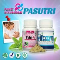 Paket Promil - Herbal-Pasutri-BPOM - Putri V & SCount - Obat Kesuburan