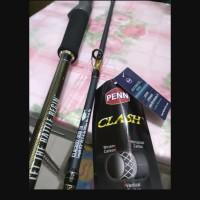 joran penn clash CLAC 602-300 IA PE 2-4 joran bc overhead jigging