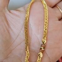 Rantai tangan gelang tali emas asli kadar 750 700 75% 70% sisik