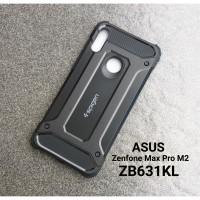Asus Zenfone Max Pro M2 ZB631KL Spigen Tough Armor Rugged Case Iron