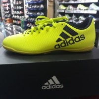 Sepatu Futsal Adidas X 17,4 In Hijau Original
