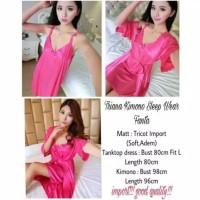 Baju Tidur Kimono Tricot/Pakaian Wanita Sexi Grosir