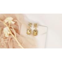 HAZEL premium korean fashion drop earrings jewelry anting mewah