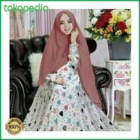 Sale Baju gamis terbaru baju gamis muslim gamis wanita wolfis monalis