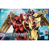 HG HGBD:R 1/144 NU Zeon Gundam Bandai Modelkit