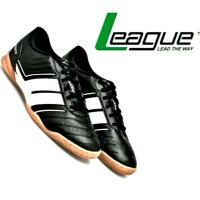Sepatu Futsal League Original Classico Majestic - Black White Terlaris
