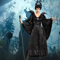 Kostum MALEFICENT Dewasa Baju Cosplay Black Devil Murah Kostum Seram