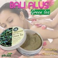 Bali Alus Lulur Green Tea - Body Scrub with VCO Original BPOM