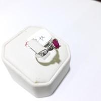 Cincin emas putih 75% berat 2 gram size 11 dan 12. White gold ring