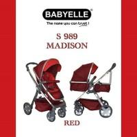 STROLLER BABYELLE NEW 2 IN 1 & PRAM MADISON S-989
