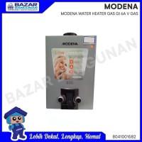 WATER HEATER / PEMANAS AIR GAS LPG MODENA GI 6 A / 6A V