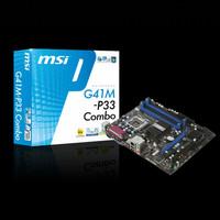 MOTHERBOARD / MAINBOARD GIGABYTE GA-G41M COMBO LGA 775 DDR2 / DDR3 OC