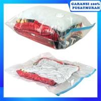 Kantong Plastik Vakum Penyimpan Baju Uk 70x100cm Storage Vacuum Bag