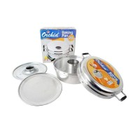 Backing Pan Orchid 28 / Alat Pencetak Kue Bolu 8 Telur