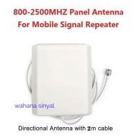 antena repeater panel sinyal indoor gsm 800 mhz-2700 mhz mobile