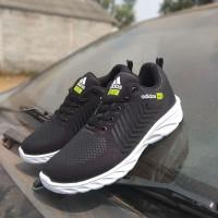 Sepatu Adidas Neo City Racer Black White 36 40