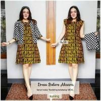 Dress Batik Balero Aksara/Batik Balore/Balero Batik - XL