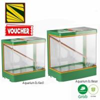 Aquarium Es Kelapa Acrylic Es Buah + Gayung / Kotak akrilik es buah