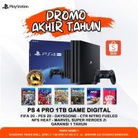 PS 4 PRO 1TB FULL GAME DIGITAL