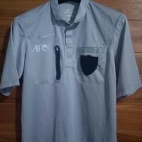 jersey kaos shirt wasit referee nike abu-abu FIFA AFC original slimfit