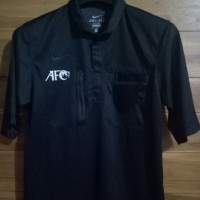 jersey kaos shirt ori wasit referee nike hitam black FIFA AFC original