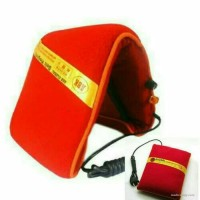 Bantal pasir panas terapi kesehatan Listrik Hangat Syaraf pillow leher