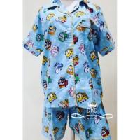 Baru Baju Tidur Setelan Dewasa Pajamas Tayo The Little Bus Piyama
