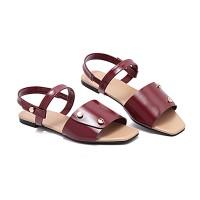 Sandal Wanita Vicari Alethea Merah Tua-V1AA8019
