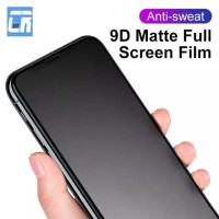 Iphone X XR XS Max Tempered Glass Matte Frosted Full Cover Full Screen