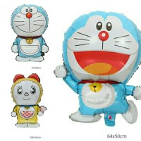 Balon Foil Doraemon & Dorami Size Medium